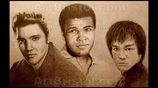 "ART BRISTOL COLLECTION 2013: Elvis,  Bruce Lee, Mohamed Ali: Soundisciples ""Skewermorph"". 528p"