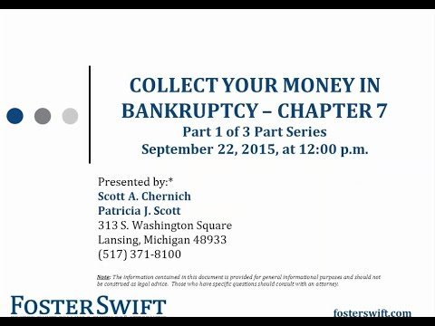 Collect Your Money in Bankruptcy: Chapter 7