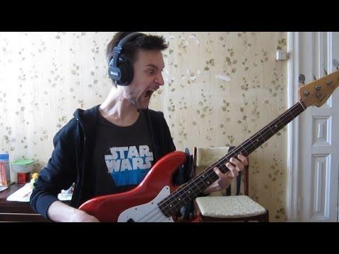 (Star Wars Episode VI: Return of the Jedi OST) Max Rebo Band - Jedi Rocks (bass cover)