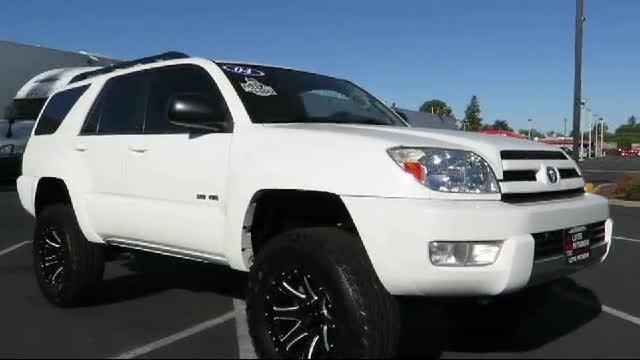 Lifted 4Runner For Sale >> 2004 Toyota 4Runner Sr5 4x4 *lifted* Sacramento Redding ...