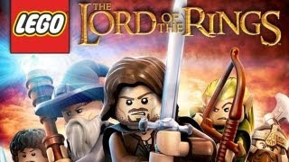 CGRundertow LEGO LORD OF THE RINGS for Nintendo Wii Video Game Review