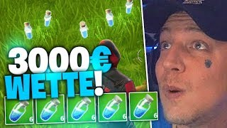 Mini Challenge in Fortnite | 3000€ Wette | SpontanaBlack