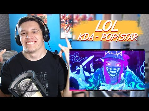 REACT - K/DA - POP/STARS (ft Madison Beer, (G)I-DLE, Jaira Burns) | Official Music
