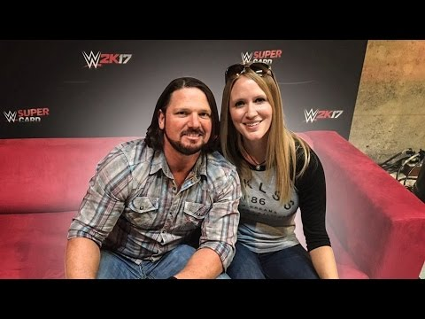 WOULD YOU RATHER W/ WWE's AJ STYLES!
