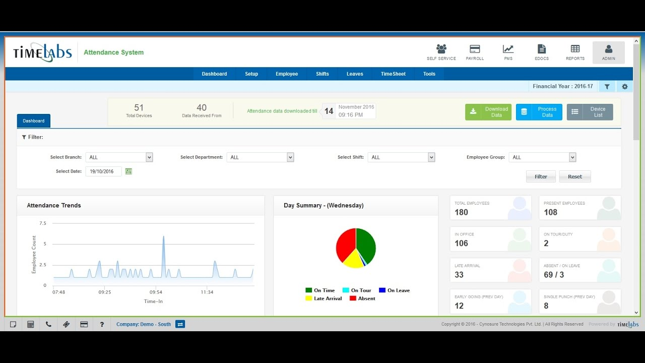 New Web Based Time Attendance Software Product Tour