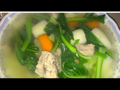 Cambodian healthy soup, Khmer food, Asian food