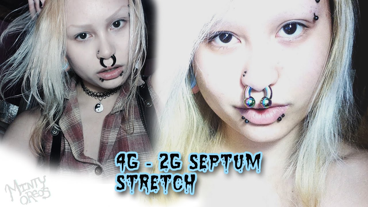 4g To 2g Septum Stretch Retainer General Information Youtube