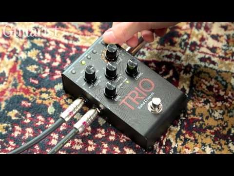 Digitech Trio Band Creator effects pedal review demo