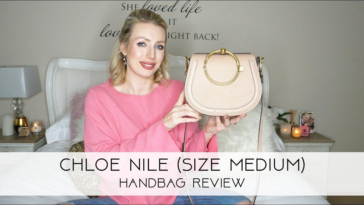 Chloe Nile Medium Handbag Review Devoted To Pink