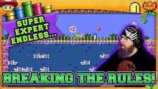 BREAKING THE RULES! | Super Mario Maker 2 Super Expert No Skip with Oshikorosu! [62]