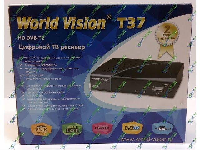 Видео обзор World Vision T37