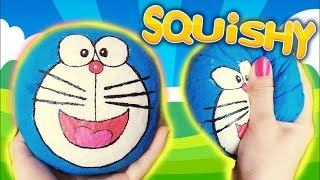 Hướng Dẫn Làm Squishy Doraemon - Ai Quay Phim Giúp Chị Hôm Nay?