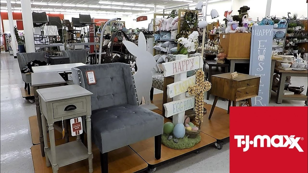 Tj Maxx Spring 2019 Easter Home Decor Furniture Shop With Me