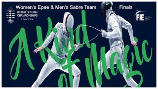 FIE Fencing Channel live stream on Youtube.com