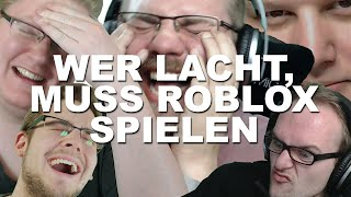 React: Wer lacht, muss Roblox spielen (Try not to laugh Challenge)