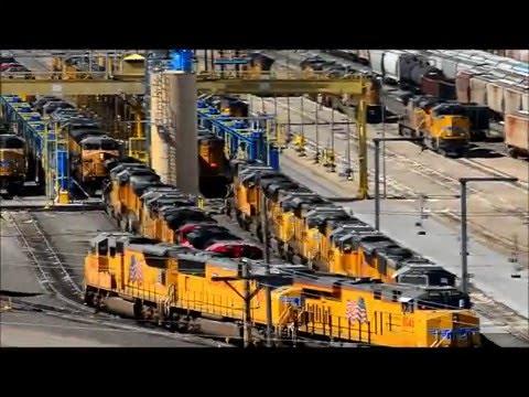 Union Pacific's Bailey Yard North Platte Nebraska