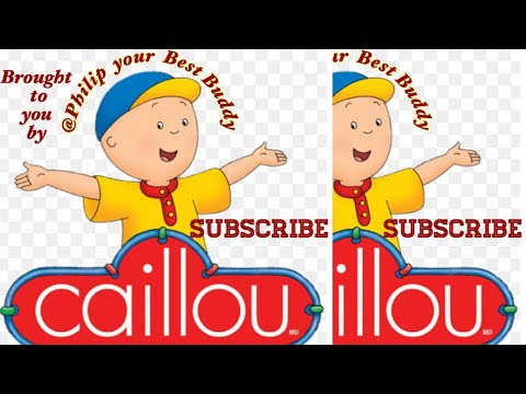 I'm Caillou's theme song with lyrics