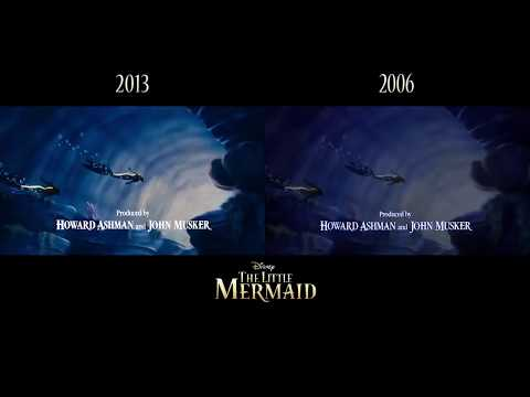 The Little Mermaid 2013 2006 Editions Youtube