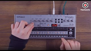 Roland TR-06 solo workout at Patchwerks!