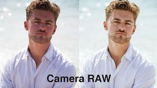 Простая коррекция сложного цвета лица в Camera Raw (Lightroom)