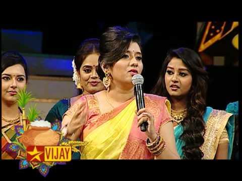 vijay tv diwali kondattam