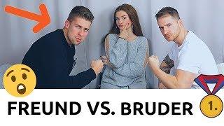Mein BRUDER vs. FREUND 😱