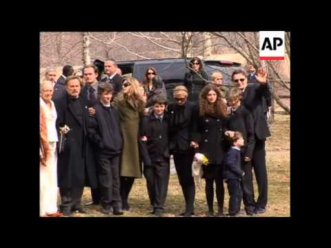 Funeral service for actress Natasha Richardson