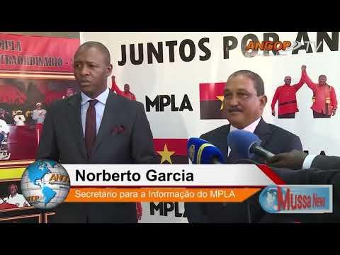 Angola mpla será liderado até 2019 pelo J.E.Santos