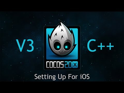 Cocos2d-x V3 C++ Tutorial 1 - Setting Up For IOS