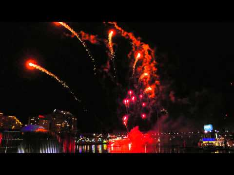 Sydney Darling Harbour Fireworks - April 25, 2015