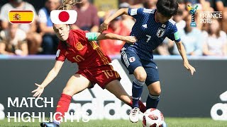Spain v. Japan - FIFA U-20 Women's World Cup France 2018 - Match 14