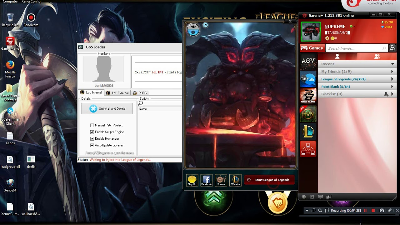 LEAGUE OF LEGENDS HACK - YouTube