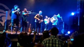 """La Brass Banda: """"Doda Hos"""" instrumental - Bamberg, Domplatz Open Air 2014"""