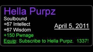 Hella Purpz - Pilot