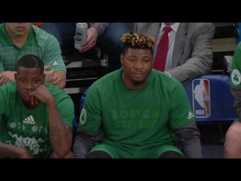 Sounds of Christmas: Boston Celtics vs New York Knicks | 12.25.16