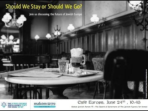 Global Jewish Forum VI - Café Europa