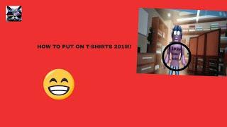 [STILL WORKING] wie man T-shirts auf roblox moblile 2019 anlegt!!