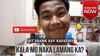 First Prank sa Kapatid Ko? (Successful nga ba?) Watch till the end!