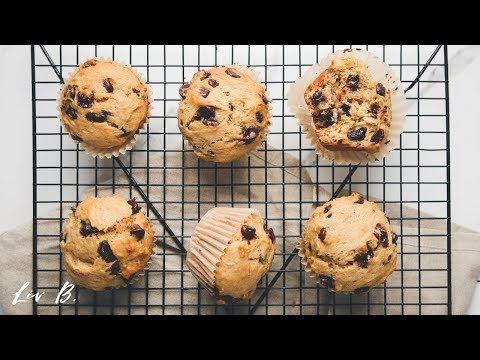 One-Bowl Vegan Chocolate Chip Banana Muffins