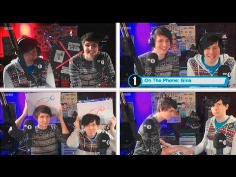 Dan and Phil radio show 08.12.13