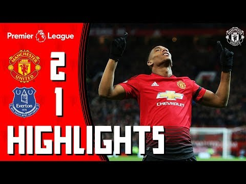 Highlights | Manchester United 2-1 Everton | Martial Stunner Seals The Points!