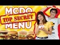 McDonald's SECRET Menu in the Philippines!