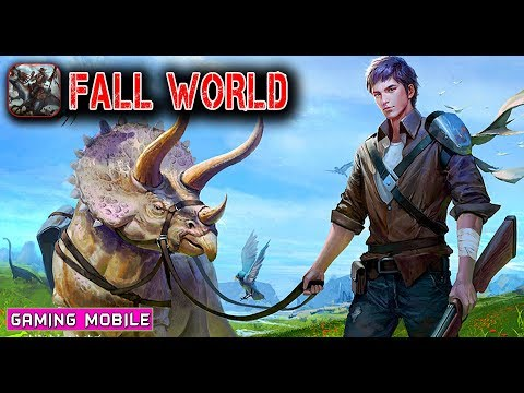 Fall World (陨落世界) - Survive Dinosaurs Zombie BETA 2 Gameplay (Android/IOS)