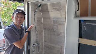 Van Build Ep9- 2019-Sprinter vąn 4x4. How I Build The Shower