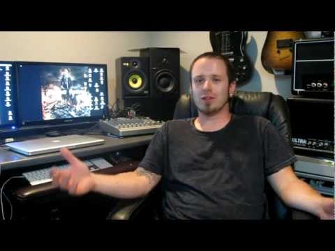 THREAT SIGNAL - 2011 Studio Update 3: Vocals & Bass (OFFICIAL BEHIND THE SCENES)