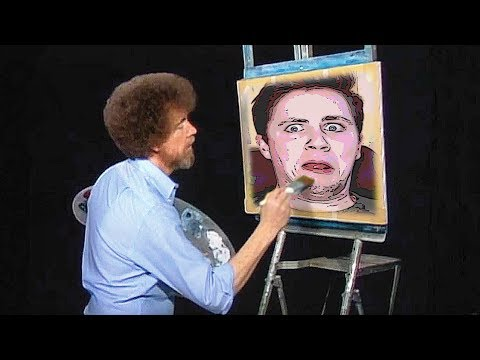 i am the bob ross now | Passartout: the Starving Artist