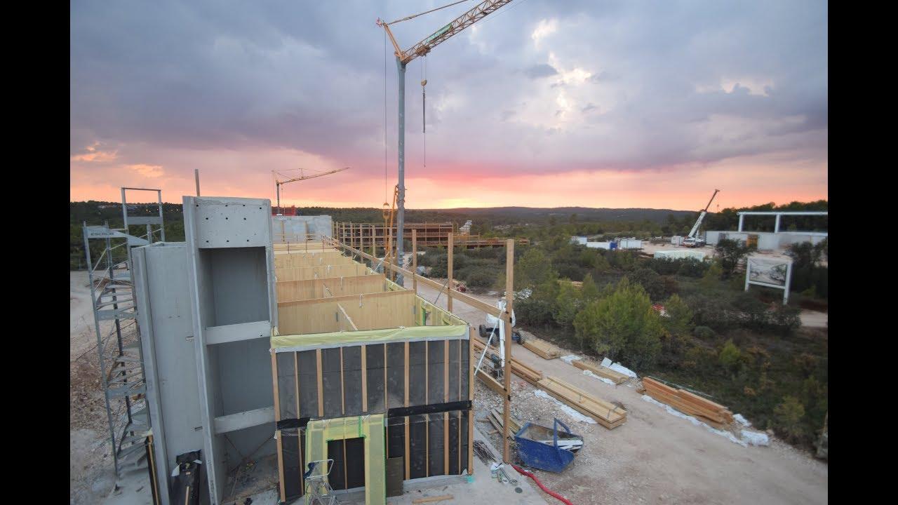 Construction Aix En Provence construction de the camp - aix-en-provence (13) - time-lapse