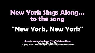 New York Sings Along to Frank Sinatra's