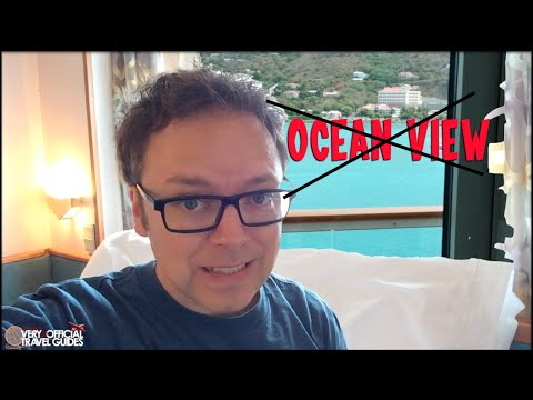 Cruise Ship Cabin Comparison, Inside vs Ocean View vs Balcon