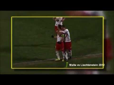 Michael Mifsud's 36 international goals for Malta